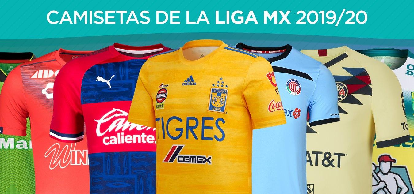 Todas las camisetas de la Liga Mexicana 2019/2020 | @planetafobal