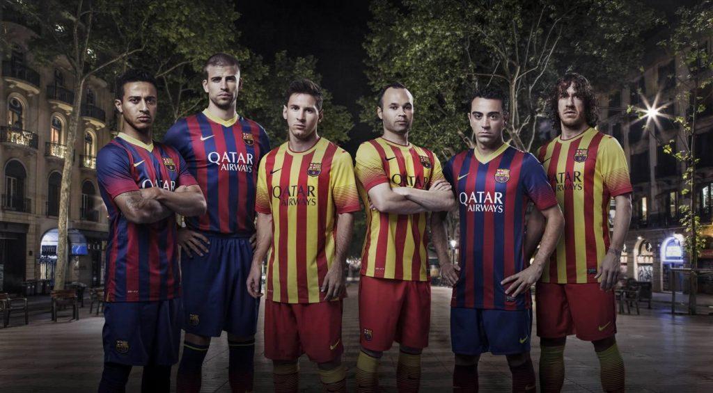 Barcelona presentó sus nuevas camisetas | Foto Nike