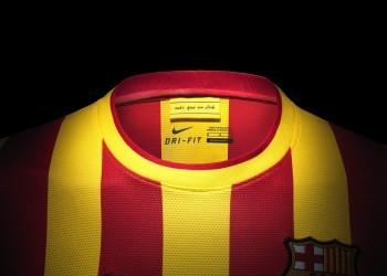 Camiseta suplente de Barcelona | Foto Nike