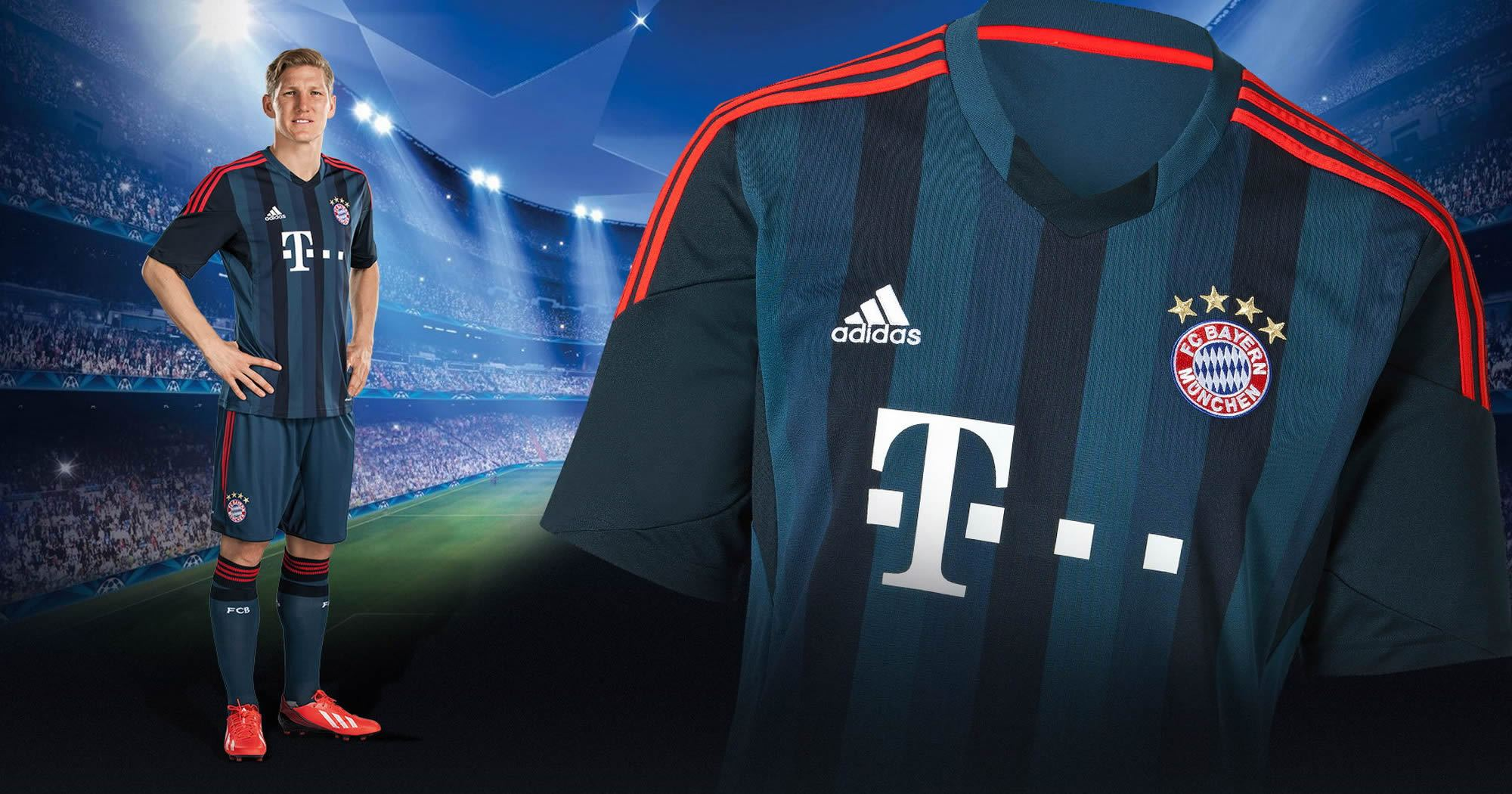 Camisetas Adidas del Bayern Munich 2013 14  47b1ca8e51949