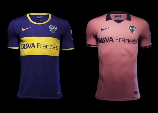 Nuevas camisetas de Boca | Foto Nike