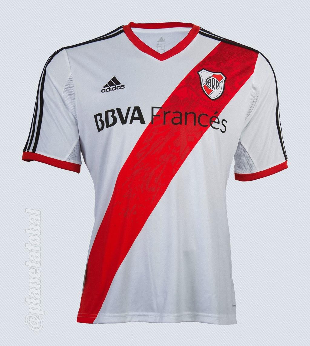 La nueva camiseta titular de River | Foto Adidas