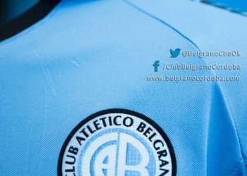 La camiseta de Belgrano para la Sudamericana | Foto Web Oficial