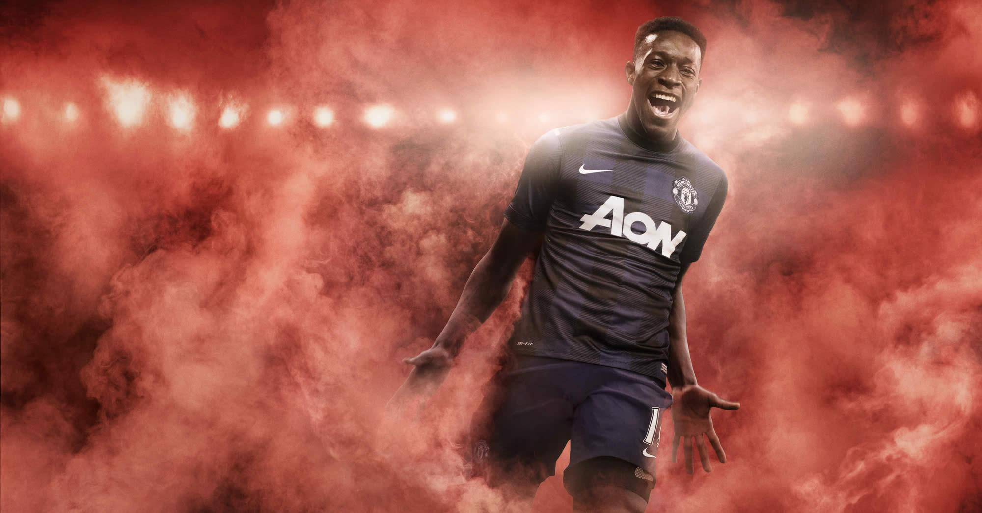 Asi luce la camiseta suplente del Manchester United | Foto Nike