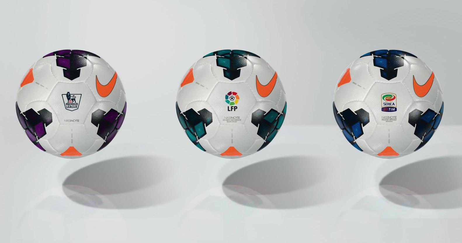 La pelota oficial de las ligas española, inglesa e italiana   Foto Nike