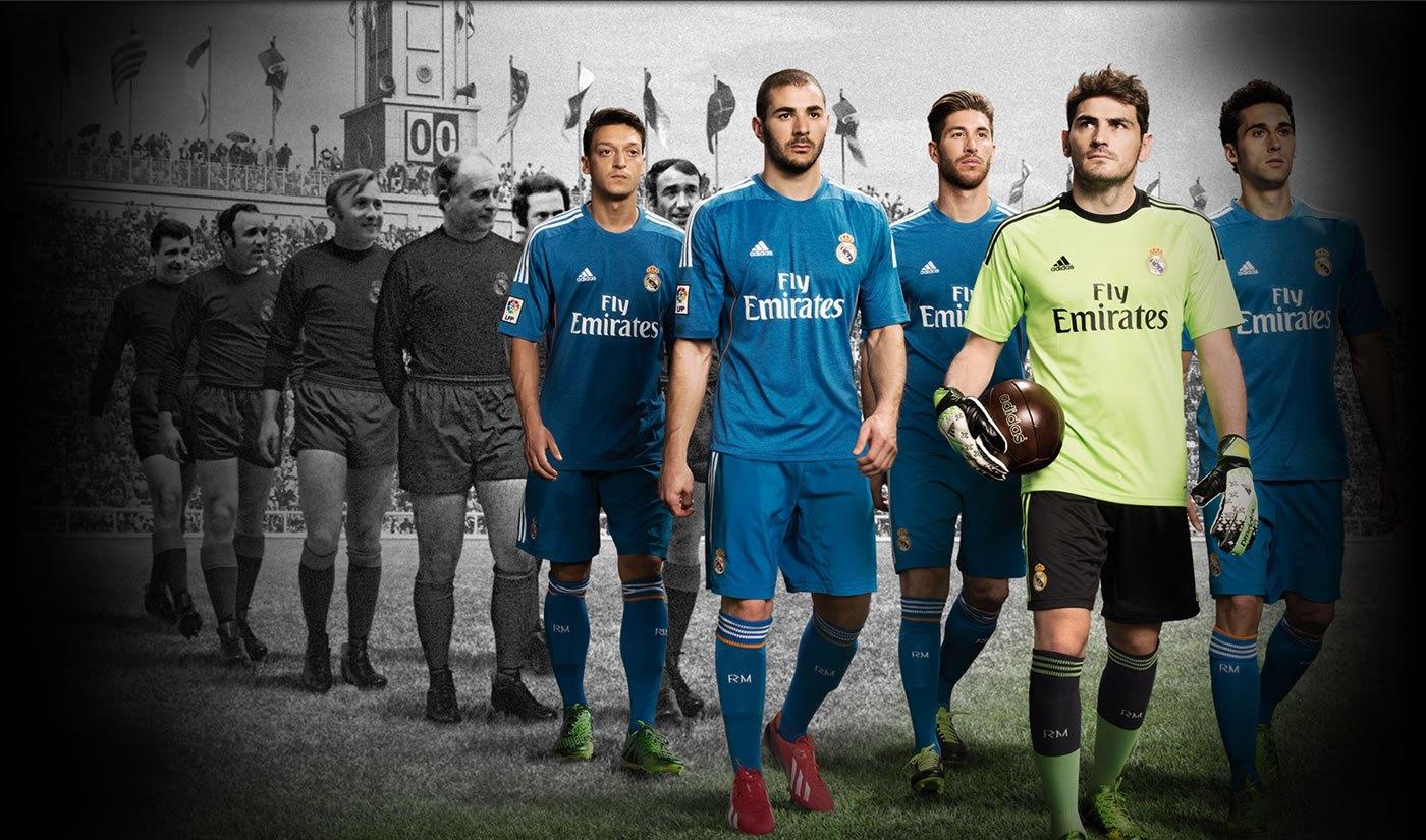 Indumentaria suplente de Real Madrid | Foto web oficial