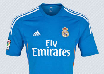 Camiseta suplente de Real Madrid | Foto Adidas