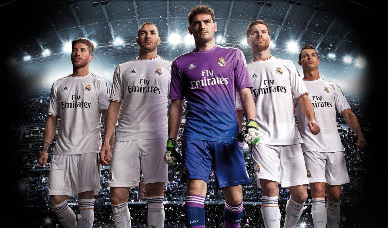 Indumentaria titular de Real Madrid | Foto web oficial