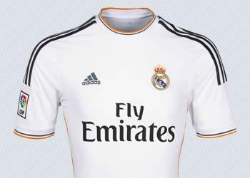 Camiseta titular de Real Madrid | Foto Adidas