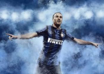 Palacio con la nueva casaca de Inter | Foto Nike