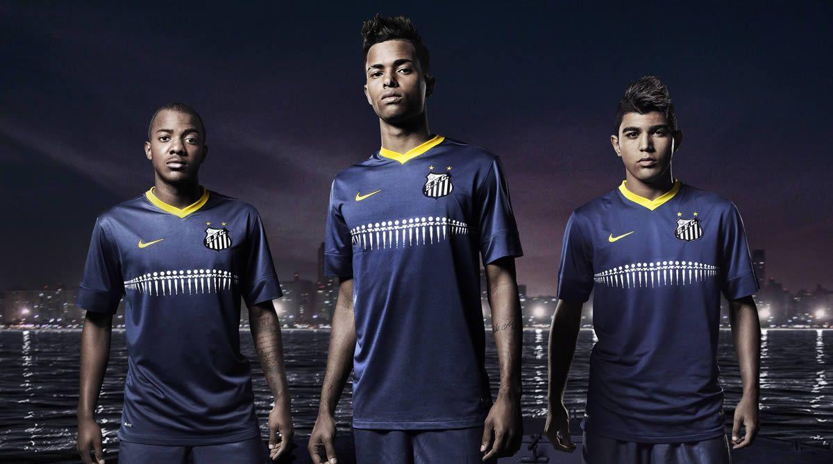 La nueva camiseta alternativa del Santos | Foto Nike