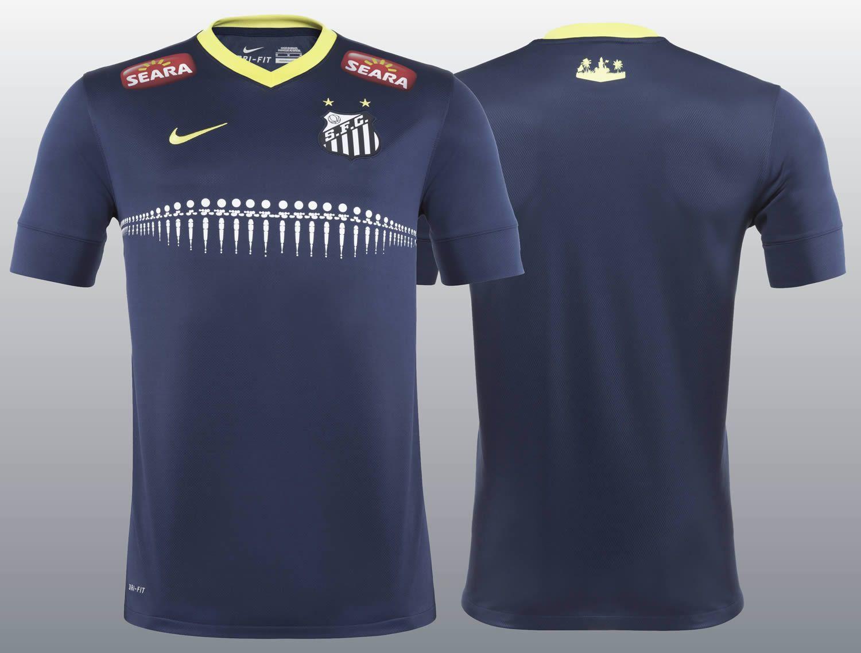 La nueva camiseta alternativa del Santos   Foto Nike