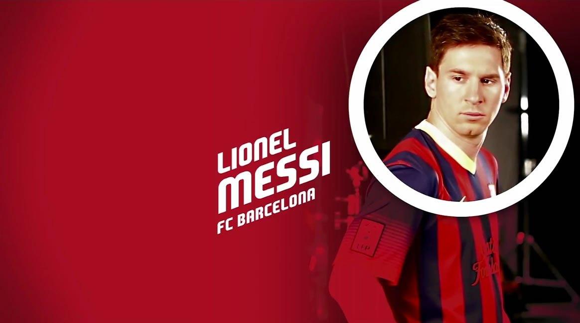 Messi encabezó el grupo de futbolistas