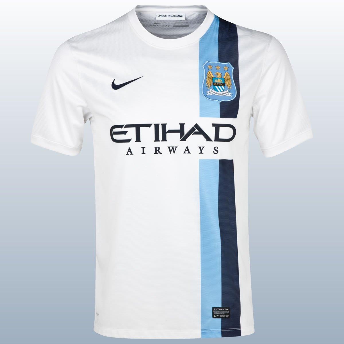 La nueva casaca del Manchester City | Foto Nike