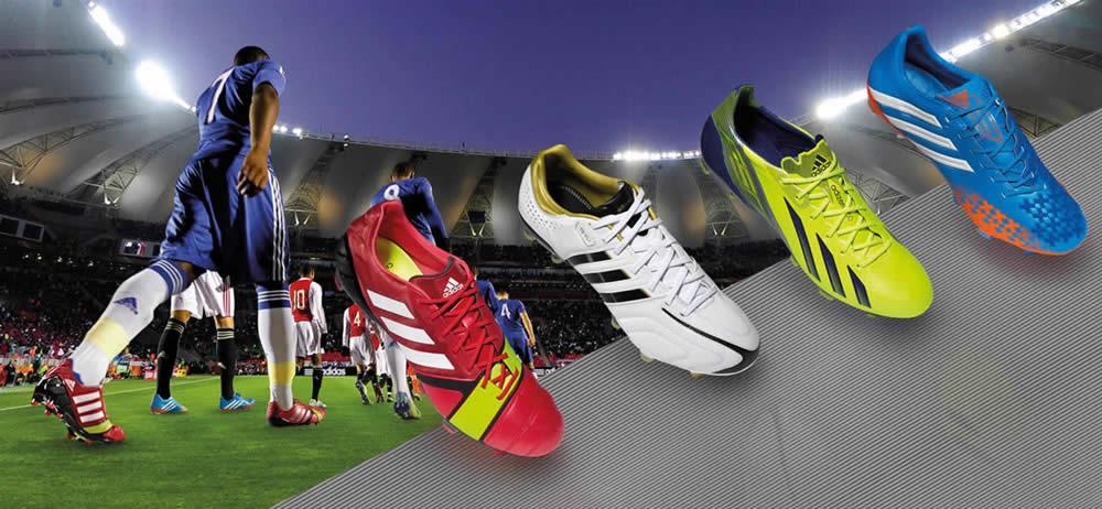 Nueva línea de botines Adidas | Foto web oficial