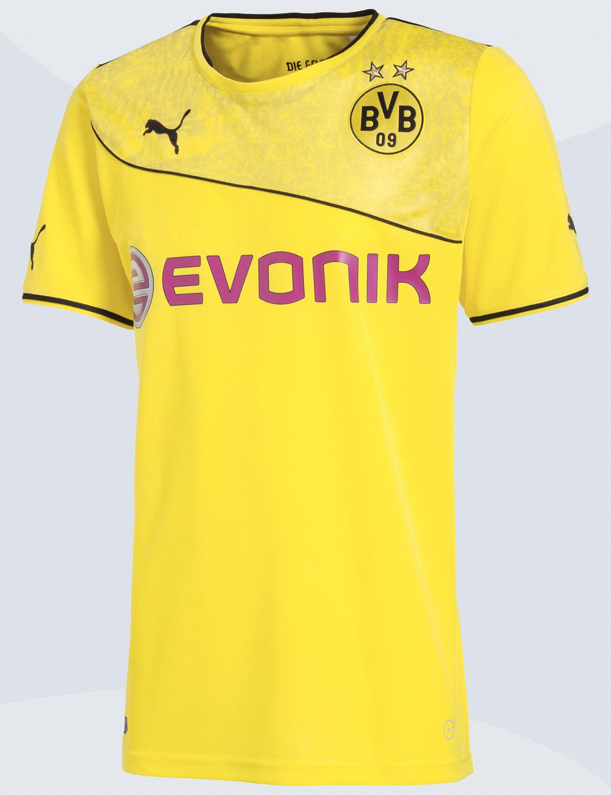 Asi luce la nueva casaca del Dortmund | Foto BVB