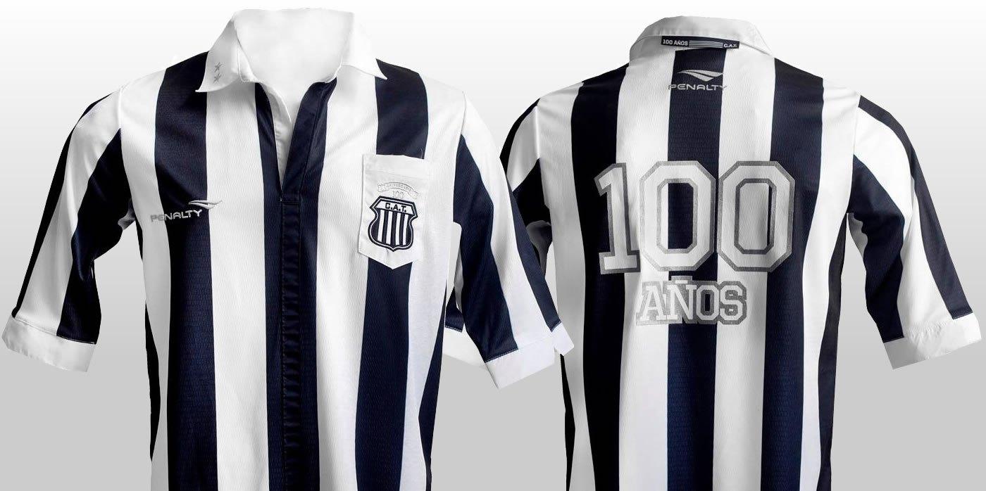 Camiseta del Centario de Talleres | Foto Marca de Gol