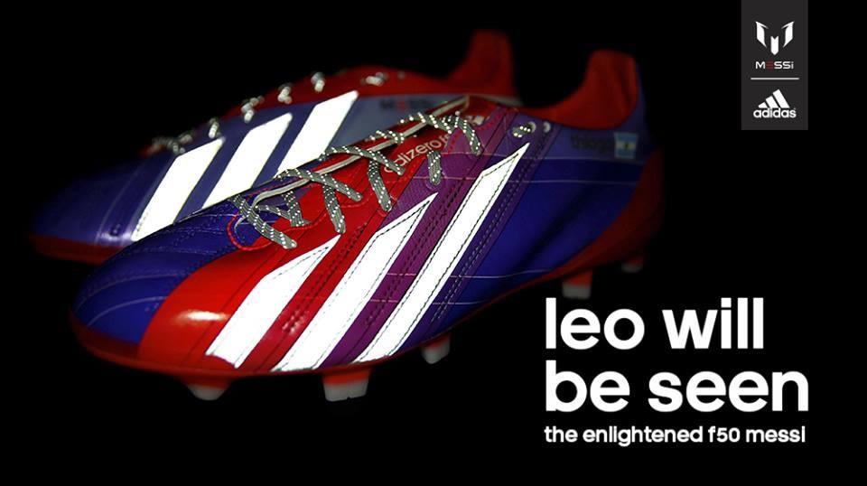 Los F50 edición limitada de Lionel Messi | Foto Adidas