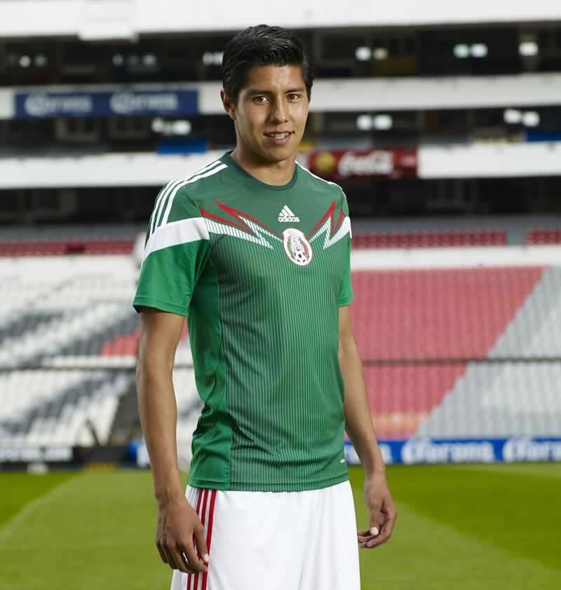 La nueva casaca de México | Foto Twitter Adidas