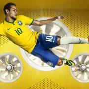 Neymar luce la nueva casaca   Foto Nike