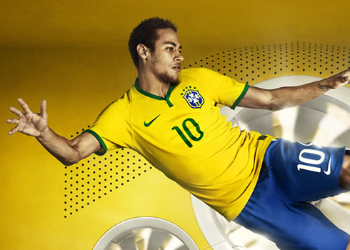 Neymar luce la nueva casaca | Foto Nike