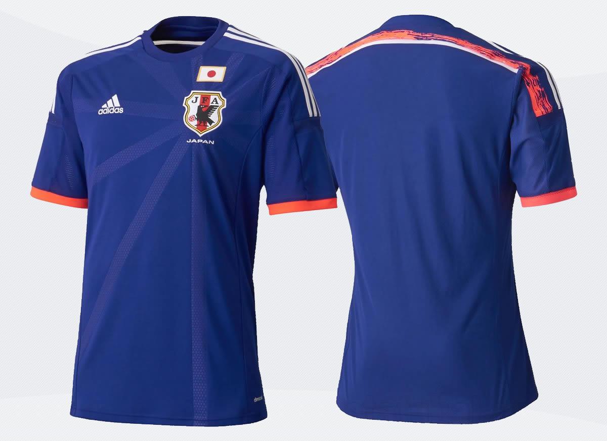 La camiseta titular de Japón | Foto Adidas