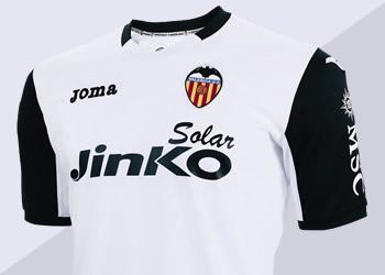 La camiseta edición especial del Valencia | Foto Joma