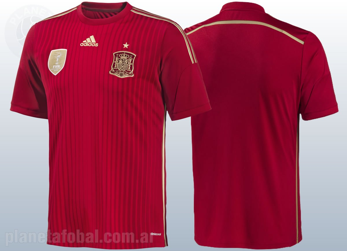 Asi luce la camiseta de la Selección española | Foto Adidas