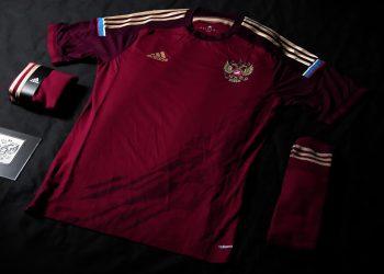 La camiseta titular de Rusia | Foto Adidas