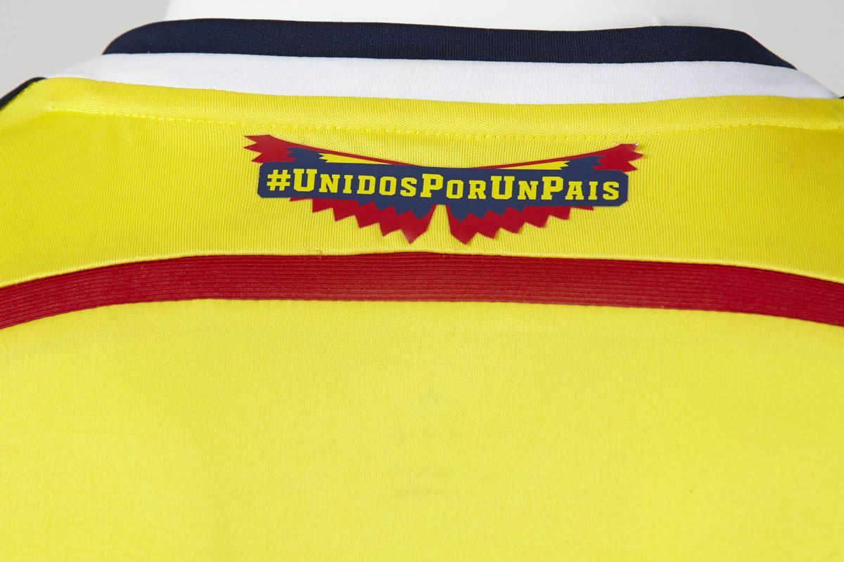 Asi luce la camiseta titular de Colombia | Foto Adidas