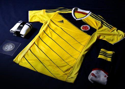Conocé la nueva casaca de Colombia   Foto Adidas