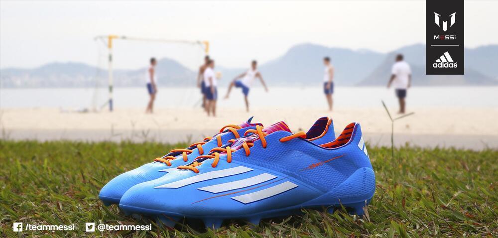 Los botines Adidas Adizero F50 Samba de Lionel Messi
