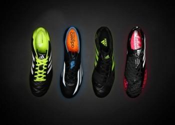 """Los colores de los botines """"Black Series""""   Foto Adidas"""