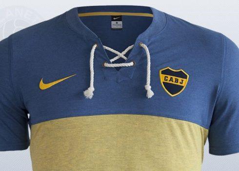 100 años del actual diseño de camiseta Xeneize | Foto Ole