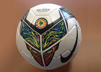 Asi luce la pelota de la copa | Foto CONMEBOL