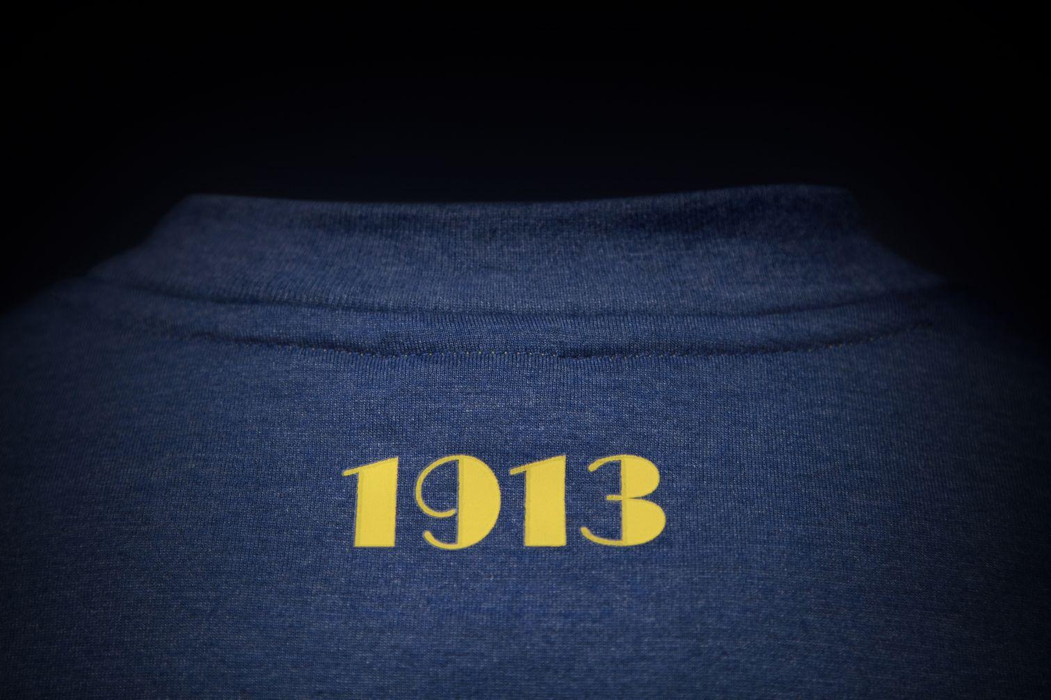 100 años del actual diseño de camiseta Xeneize | Foto Nike