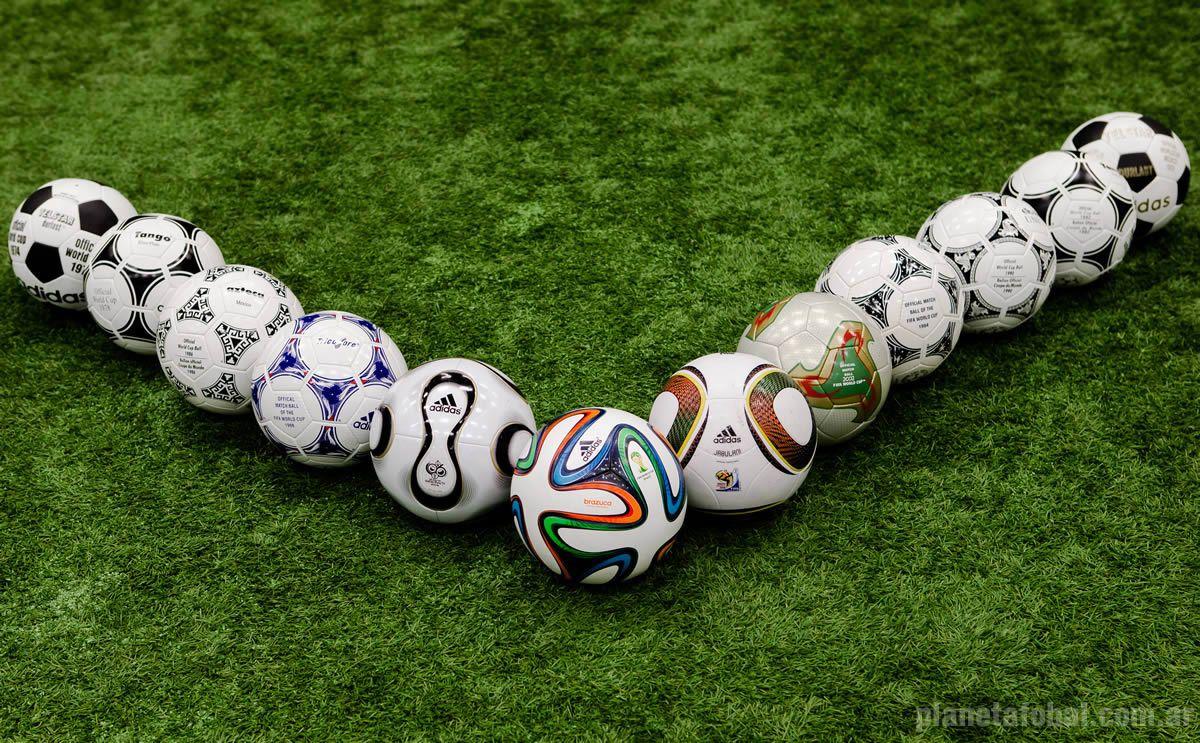 Las 12 pelotas oficiales de los mundiales | Foto Adidas