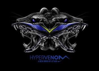 El nuevo colorway de los Hypervenom   Foto Nike