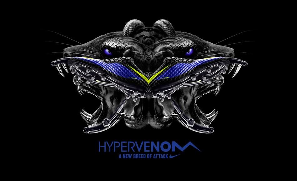 El nuevo colorway de los Hypervenom | Foto Nike