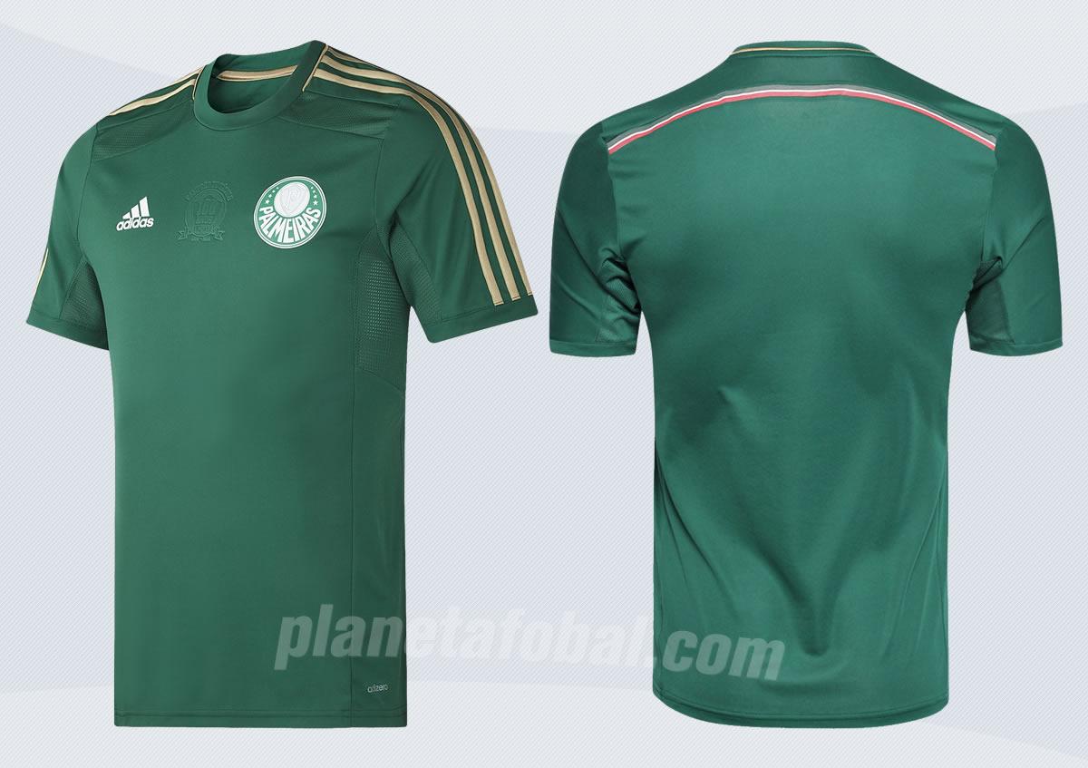Palmeiras reveló la camiseta del centenario | Foto web oficial