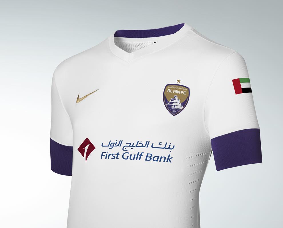 Camiseta titular Al Ain FC | Foto Nike