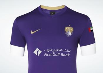 Camiseta suplente Al Ain FC | Foto Nike