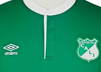 Asi es la nueva casaca del Deportivo Cali | Foto Umbro