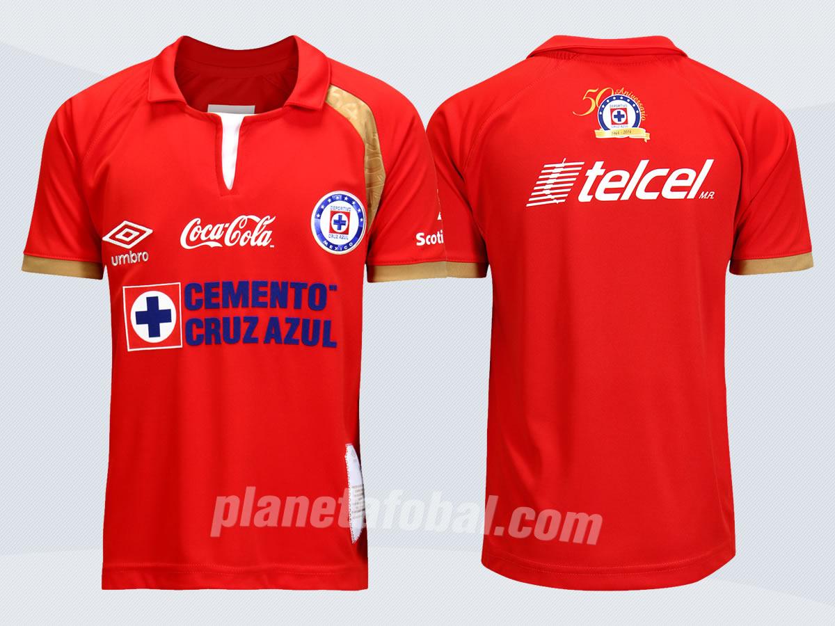 La nueva camiseta del Cruz Azul | Foto Umbro