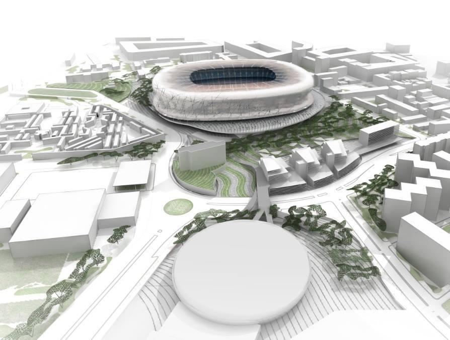 Así luciría el nuevo Camp Nou | Foto web Barcelona