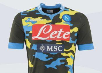 Cuarta camiseta de Napoli | Foto Macron