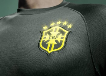 La tercera camiseta de Brasil | Foto Nike