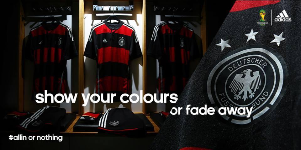 Adidas presenta la camiseta suplente de Alemania