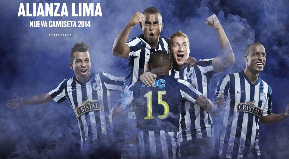 Nike presentó las casacas de Alianza Lima