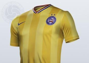 "Camiseta ""amarela"" de Bahia | Foto Nike"